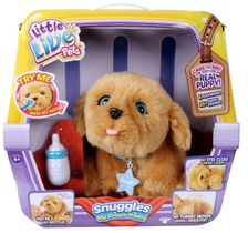 Интерактивная игрушка Moose Little Live Pets - My Dream Puppy Snuggles