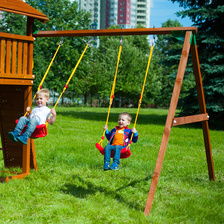 Модуль-качели Jungle Gym Swing Module c сидушками
