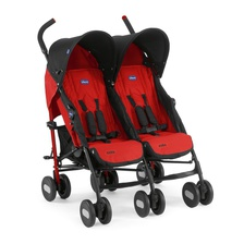 Коляска для двойни Chicco Echo Twin Stroller Garnet